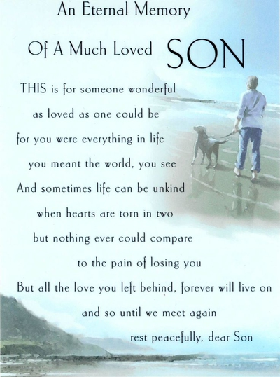 21 Death Of A Son Quotes To Remember Your Angelic Child Enkivillage