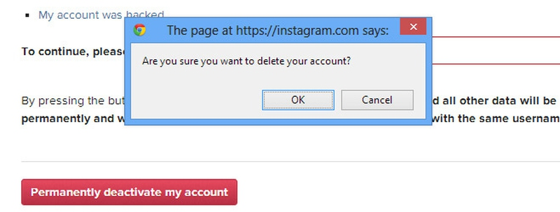Easy steps on how to deactivate an instagram account enkivillage ad0c3833b1046dbf369d5f09bd580768g ccuart Image collections
