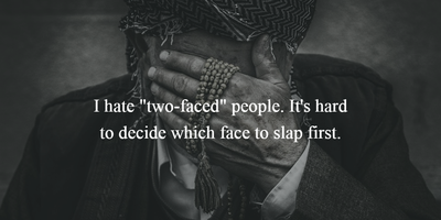2 Faced People Quotes To Reveal His Or Her True Colors Enkivillage