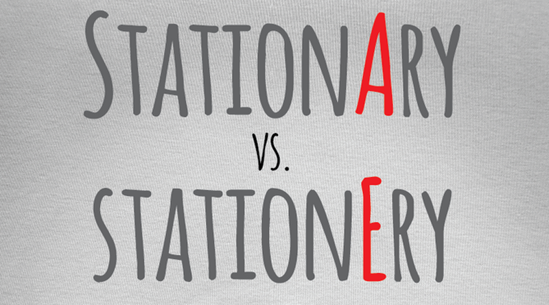 Stationary vs Stationery: Two Similar Words - EnkiVillage